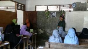 Sosialisasi Mahasantri Ma'had Aly dengan Santri Tingkat AKhir Madrasah Aliyah PP Darussalam Pinagar - PasBar (Rabu, 19 April 2017)